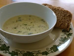 ranp and potato soup