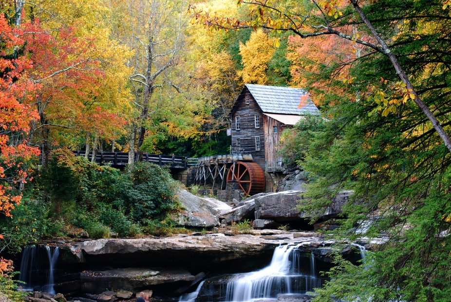 Babcock WV grist mill